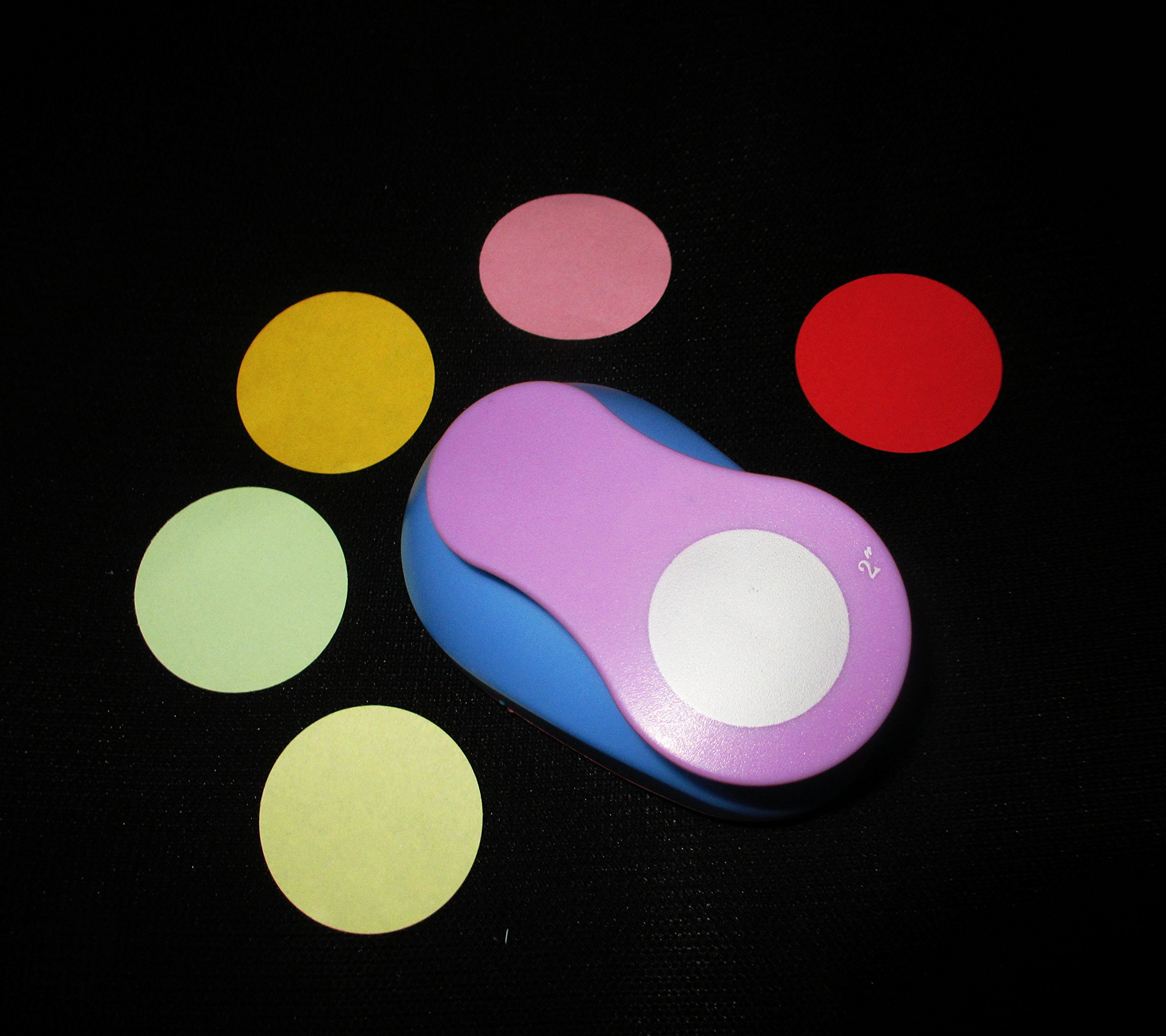 2-Inch Circle Design paper punch for scrapbooking