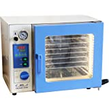 """HFS (R) 0.9 Cu Ft, 12x12x11"""" Vacuum Oven Degassing Drying Oven, 215F, Herbal Extraction, Stainless Steel Chamber, 7 Aluminium Shelf (LIMIT TIME DISCOUNT)"""