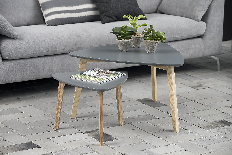 AC Design Furniture Couchtisch Couchtisch Couchtisch Mette, B  80 x T 80 x H  45 cm, MDF, Grau ab5e06