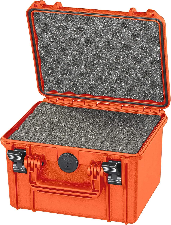 MAX MAX235S.001 Maletín Sellado de Color Naranja