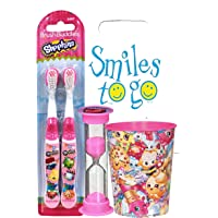Bright Oral Care Kids Soft Toothbrush With Cap Children's Oral Care Case Of 144