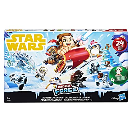 Calendrier Star Wars 2019.Hasbro Star Wars Star Wars Micro Force Advent Calendar Multi Colour