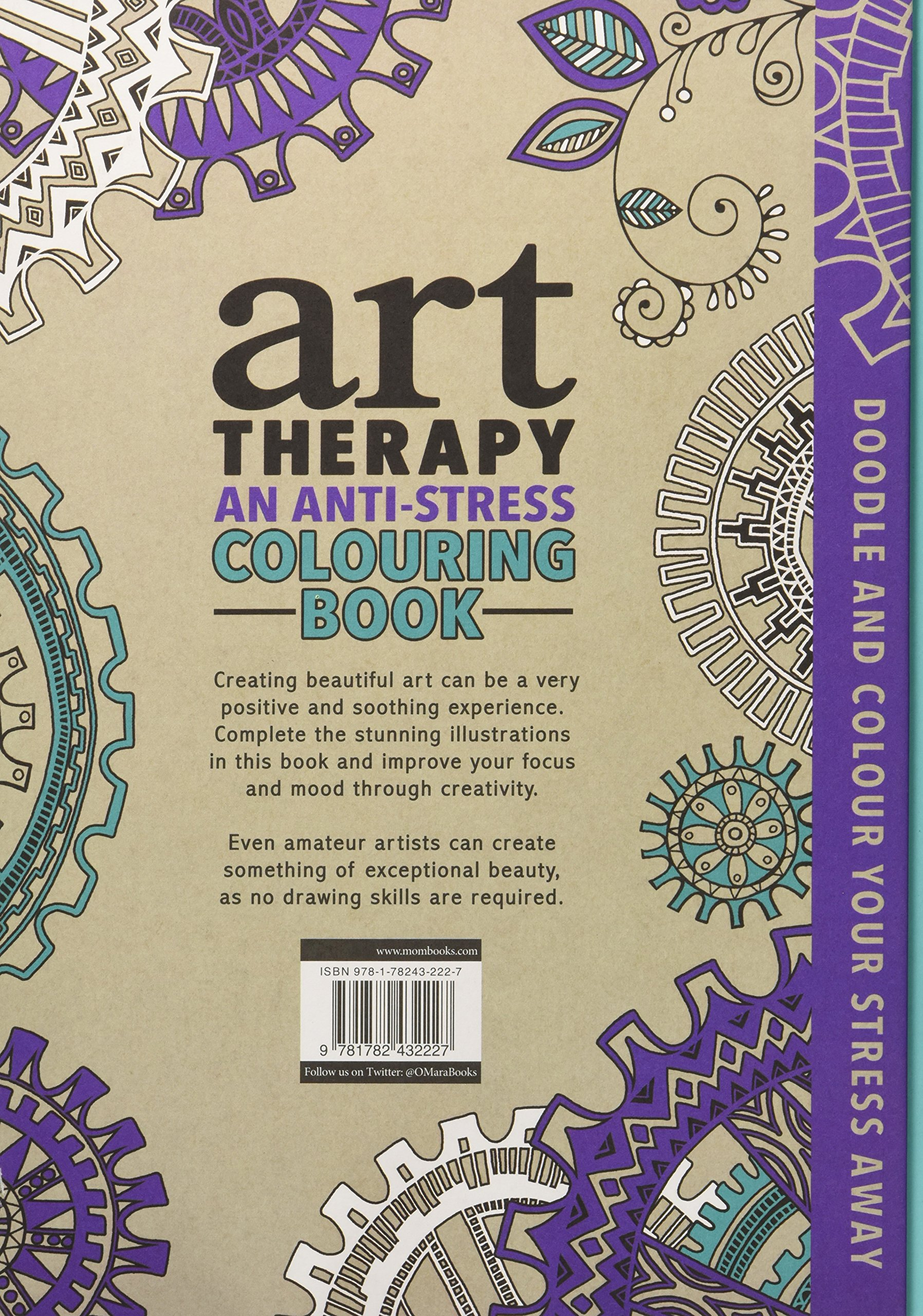 Art therapy coloring book michael omara - The Art Therapy Colouring Book Ikuo Horiguchi 9781782432227 Amazon Com Books