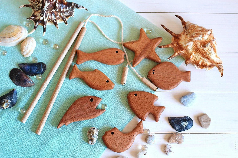Developing Toy'Fishing', Wooden game set