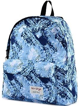Niñas Mochila Escolar - HotStyle impermeable Doodle Bookbag de impresión para 13.3 Laptop, D130A, Blue (Varios colores) - HTDUS130A: Amazon.es: Equipaje