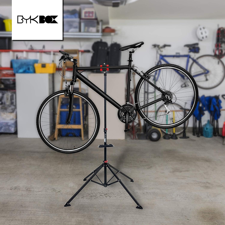 fino a 30 kg BYKBOX Supporto di montaggio per bicicletta con supporto per manubrio di alta qualit/à per biciclette e biciclette elettriche con kit di pulizia