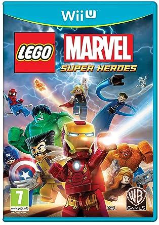 LEGO Marvel Super Heroes (Nintendo Wii U): Amazon.co.uk: PC & Video ...