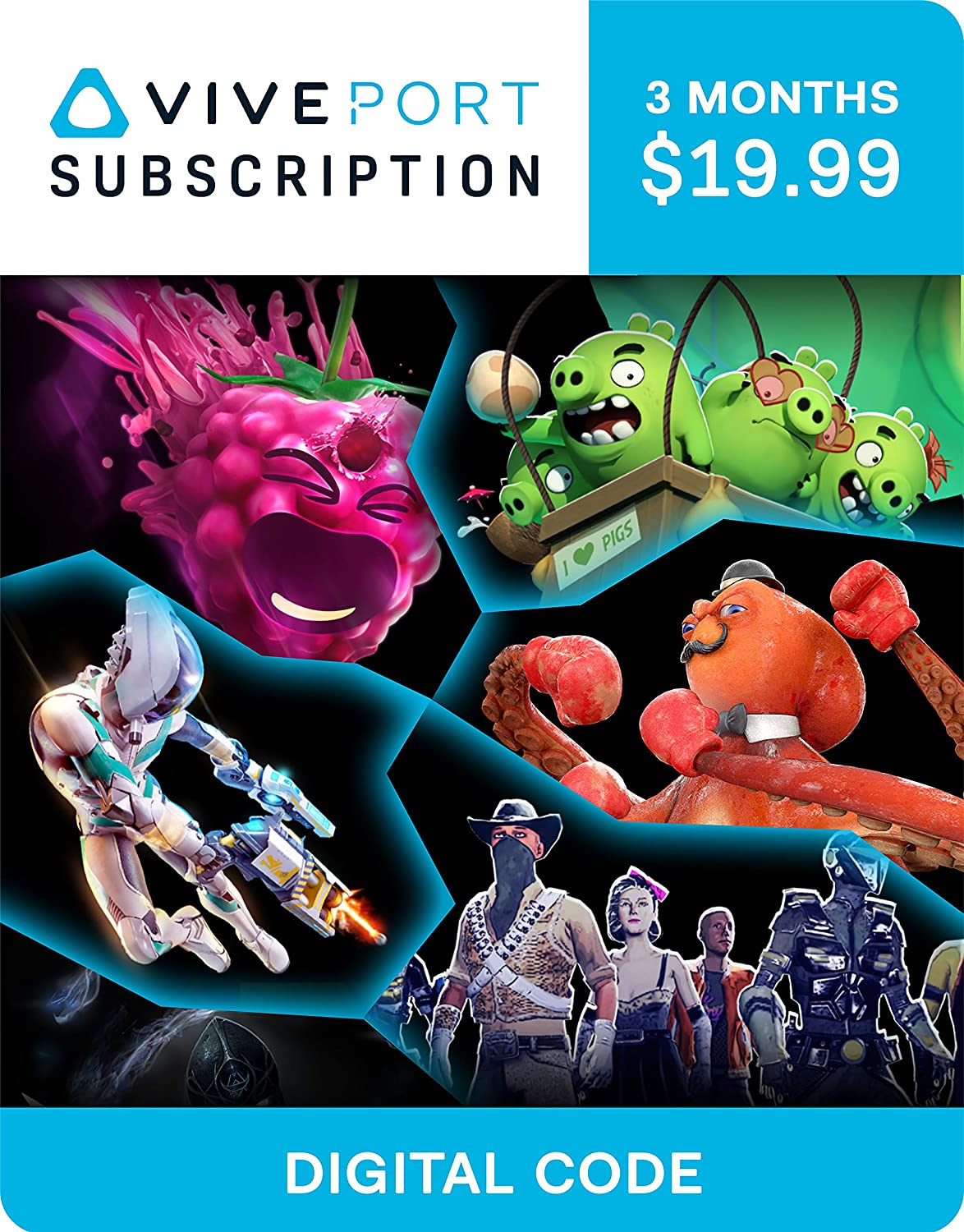 Amazon.com: Viveport Subscription: 3 Month Access (Digital ...
