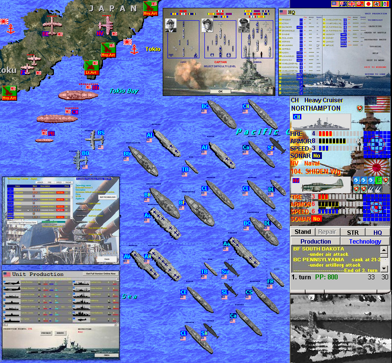 Battleship Game World War 2 Navy Edition [Download]