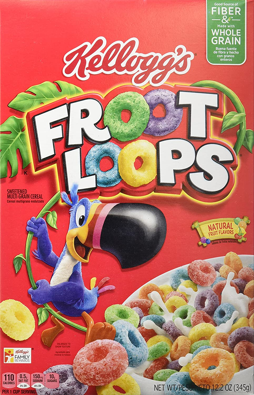 Kellogs Froot Loops Cereales Americanos - 345 gr: Amazon.es ...