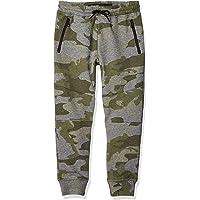 BROOKLYN ATHLETICS Pantalones de chándal de Forro Polar con Bolsillo y Cierre Pntalones para Correr para Niños