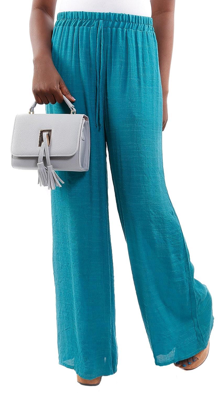 Hadari Women's Wide Leg Palazzo Pants