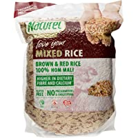 Naturel Organic Brown and Red Rice, 2kg