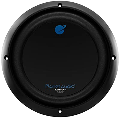 Planet Audio AC8D 8 Inch Car Subwoofer