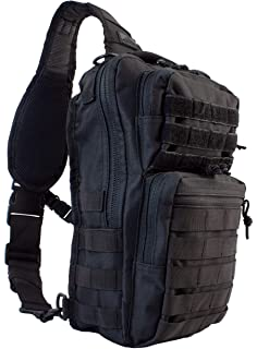 09e7ae8787 Amazon.com   Red Rock Outdoor Gear - Rover Sling Pack - Black ...
