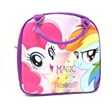 My Little Pony Lunch Box Bag with Shoulder Strap and Water Bottle Plus Take 'n Play in foil bag