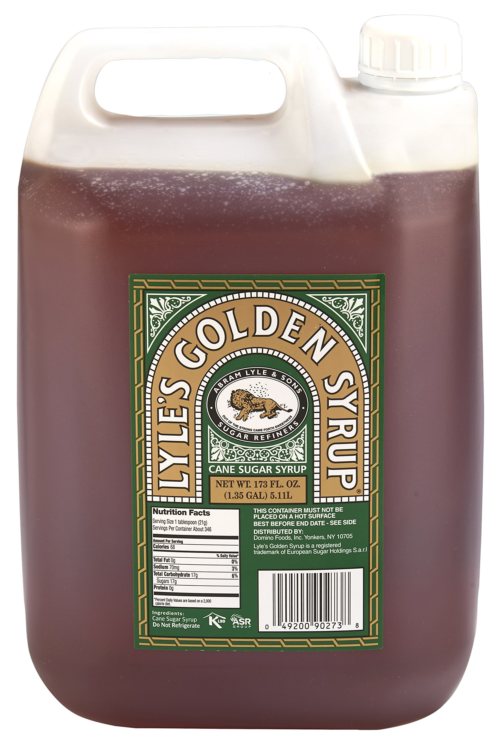 Lyle's Golden Syrup (Foodservice) (Poly Container), 173 Ounce