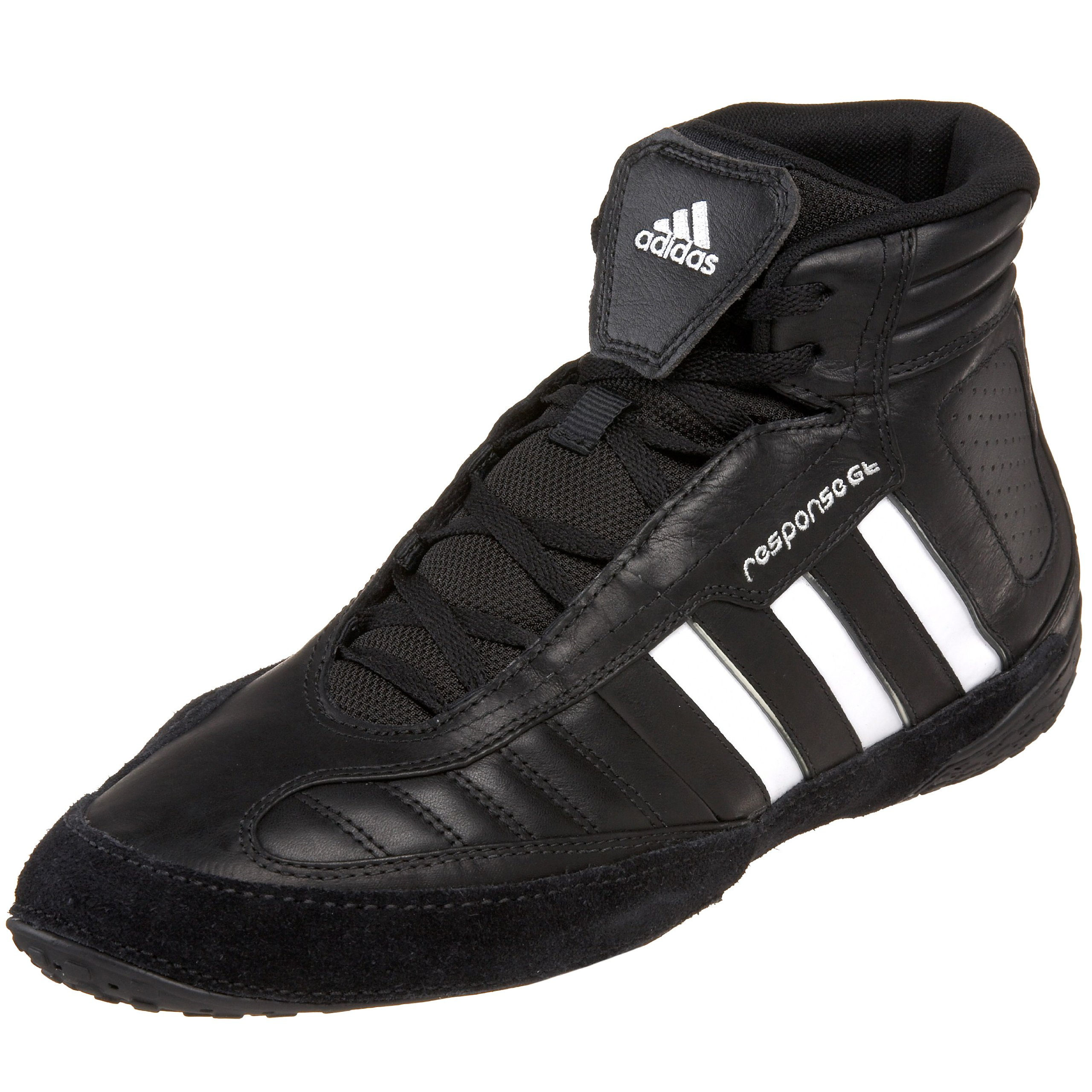 adidas Men's Response Gt Wrestling Shoe,Black/White,12 M US
