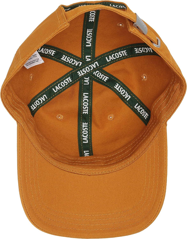 Lacoste Mens Classic Gabardine Cap Baseball Cap
