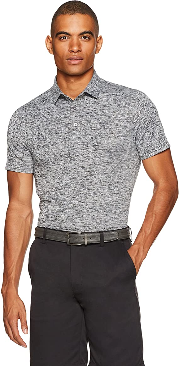 Amazon Essentials Men's Tech Stretch Polo Shirt best men's golf shirt