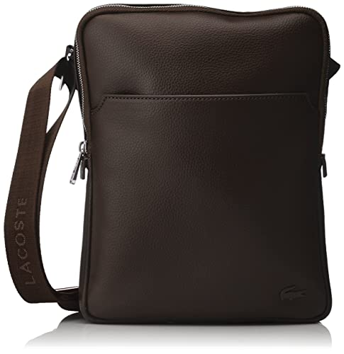 9be41e73bd Lacoste Men's Gael Top-handle Bag brown Size: One Size: Amazon.co.uk ...