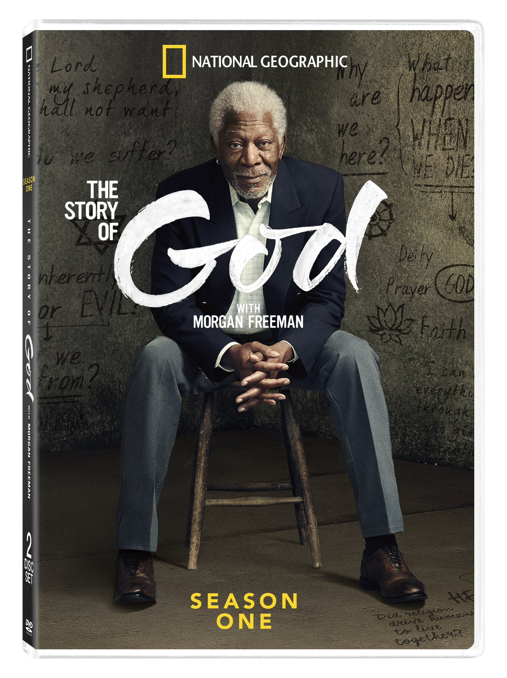 DVD : The Story of God With Morgan Freeman: Season One (Dolby, AC-3, Widescreen, 2 Pack, 2 Disc)