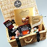 Mother's Day Lindt Luxury Thank You Mum Hamper By Moreton Gifts Ideal Mother's Day, Birthday Gift