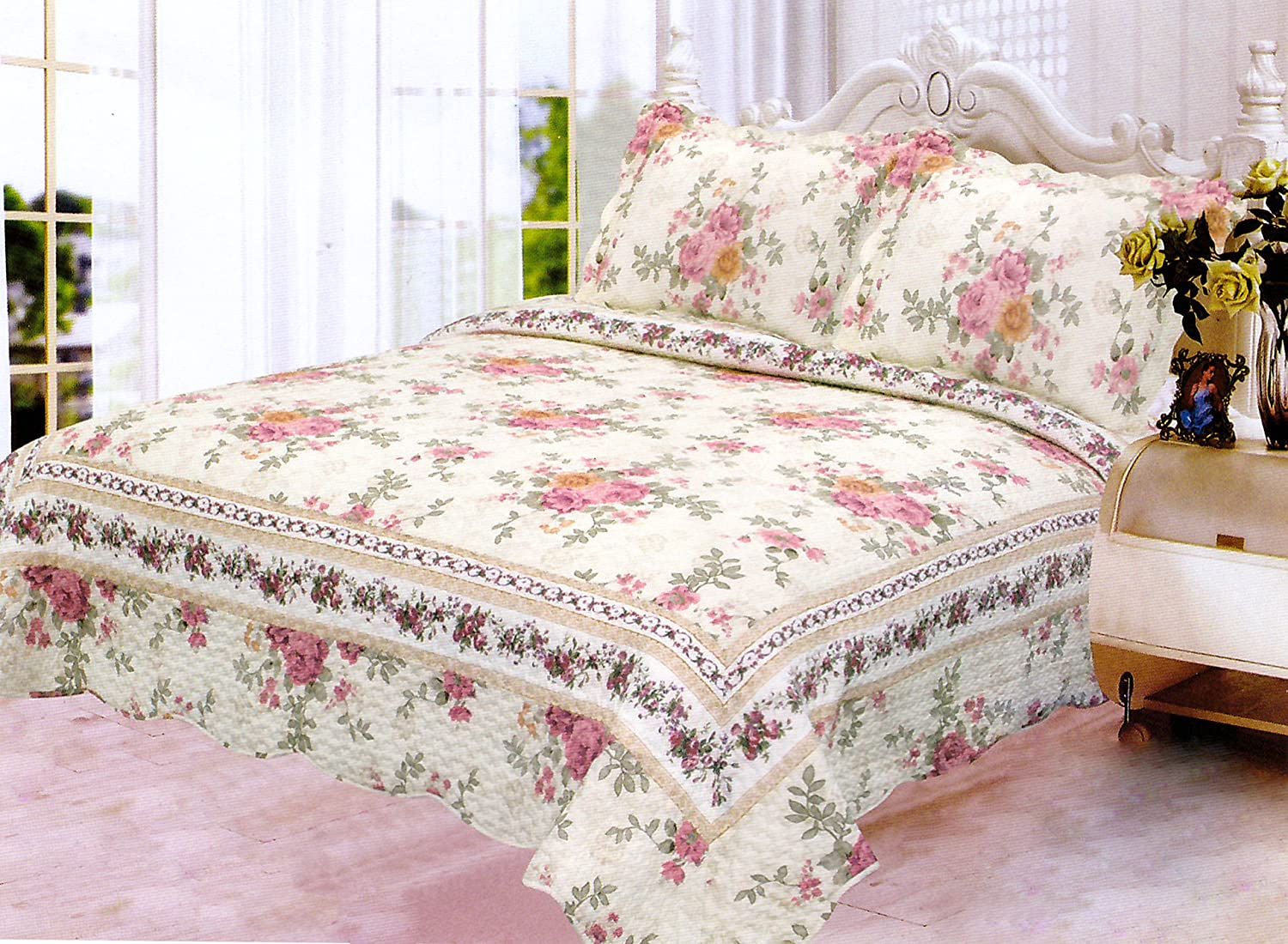 Pink And Green Bedding Sets Ease Bedding With Style