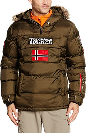 Geographical Norway Bolide Veste Doudoune pour Homme Vert