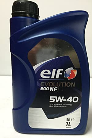 Elf - Lubricante Motor Evolution nf 5w40 1 litro: Amazon.es: Coche y moto