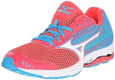 Mizuno Women's Wave Sayonara 3 Running Shoe, Pink/White, ...