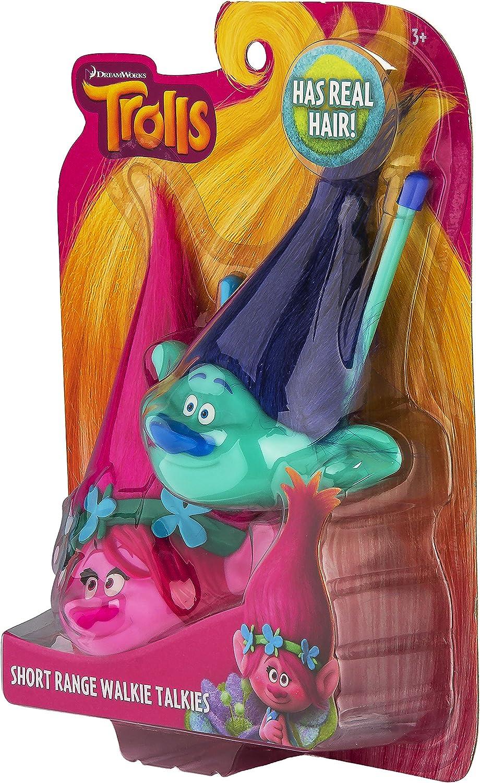 Trolls 1x Kids Walkie Talkies for Children Kids Film Cartoon Characters