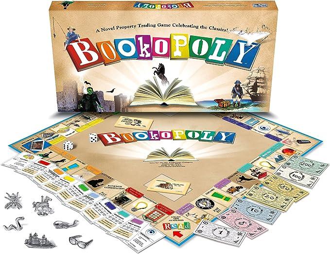 Bookopoly Board Game by Late for the Sky: Amazon.es: Juguetes y juegos