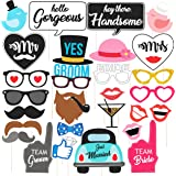 Discount Retail Photo Booth Party Props, Multi Color (30 Pieces)