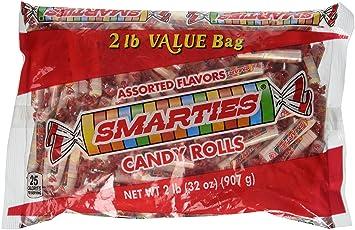 Smarties Candy Rolls Bulk 2 Pound