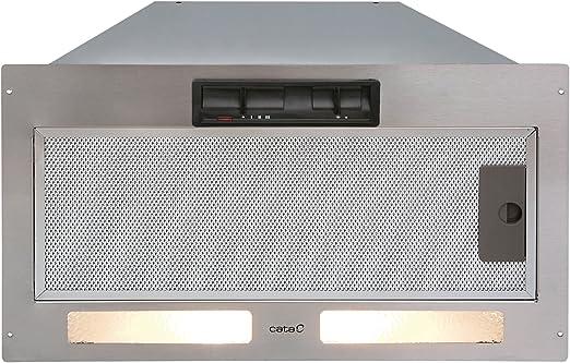 CATA GT Plus 45 Encastrada Acero inoxidable 560m³/h - Campana (560 m³/h, Canalizado, 55 dB, 63 dB, 68 dB, Encastrada): Amazon.es: Hogar