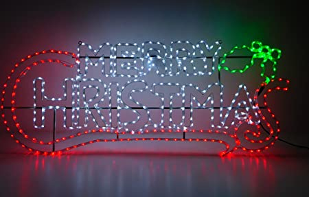 Christmas concepts 15 metre rope light merry christmas sign with christmas concepts 15 metre rope light merry christmas sign with multi led lights christmas aloadofball Images
