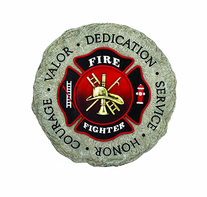 Spoontiques Firefighter Stepping Stone