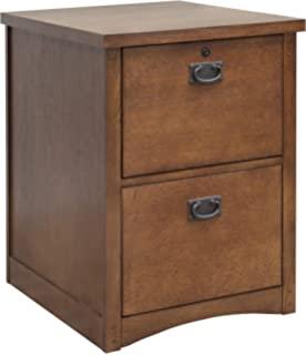 Kathy Ireland Home By Martin Mission Pasadena 2 Drawer File Cabinet   Fully  Assembled