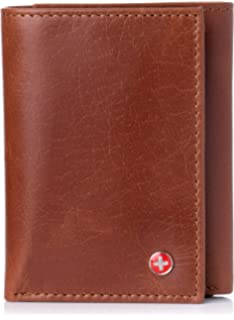 1fd9c14b6 Alpine Swiss portafolios RFID bloqueo Capacidad extra Multi Card Trifold