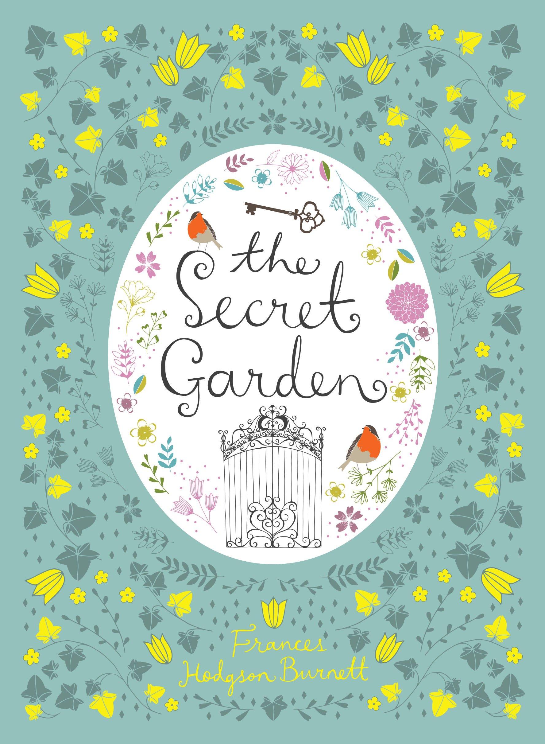 The Secret Garden Color Illustrated New Cloth Bound Gift Hardback with Ribbon Książki antykwaryczne