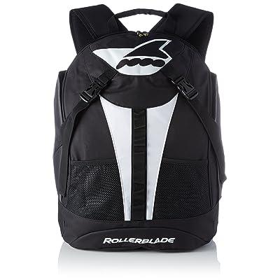 Rollerblade Uni Marathon Backpack LT 30Inliner Sacoche, noir/blanc, Taille Unique
