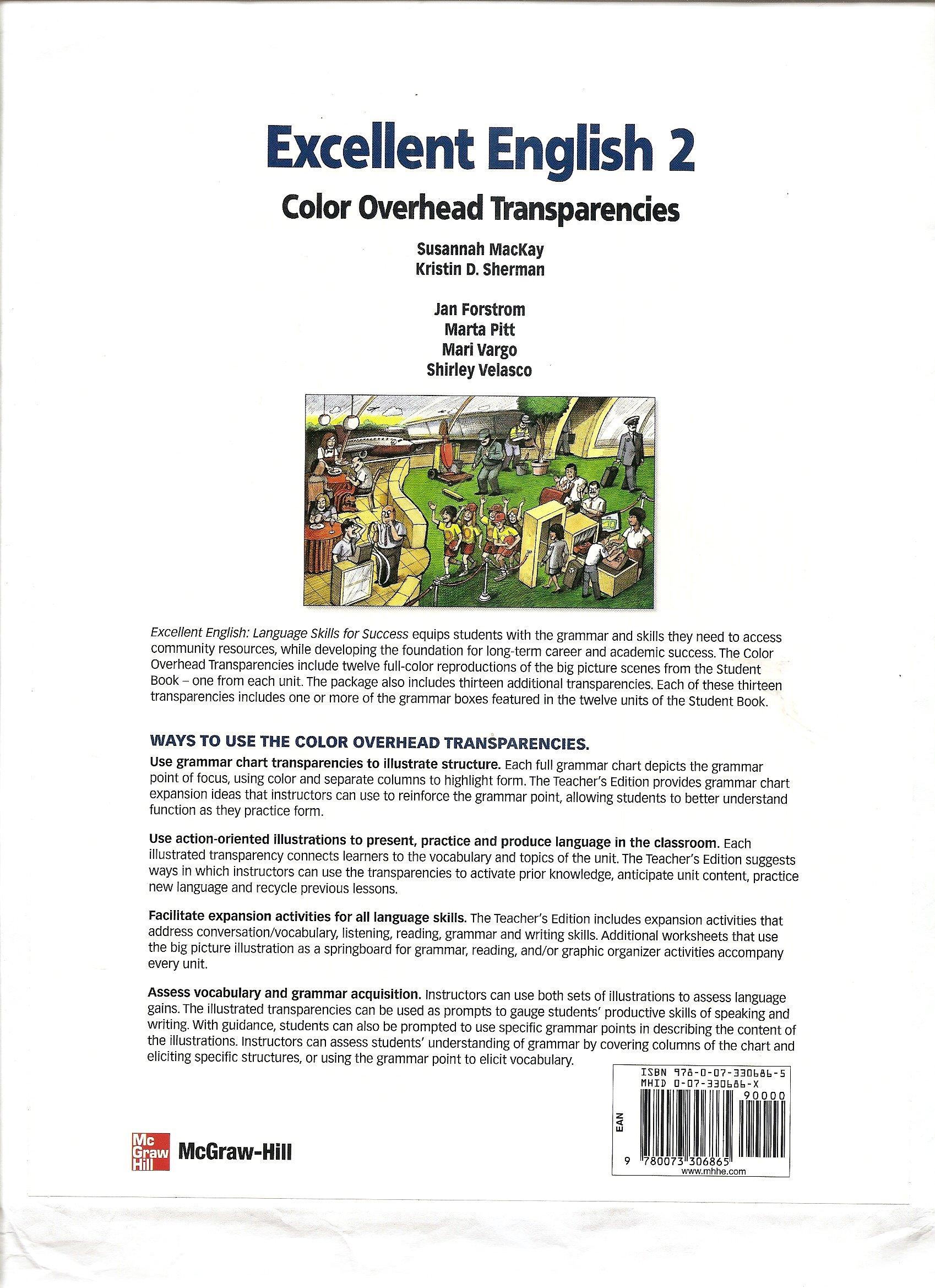 Excellent English 2 Color Overhead Transparencies pdf epub