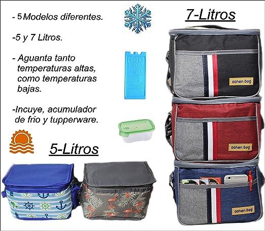 Pack Bolsa hermética ISOTERMICA pequeña + Acumulador de frio + ...