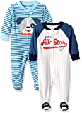 Carter's Baby Boys' 2-Pack Cotton Sleep and Play