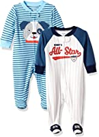 Carter's Baby Boys' Cotton Sleep and Play (Pack...
