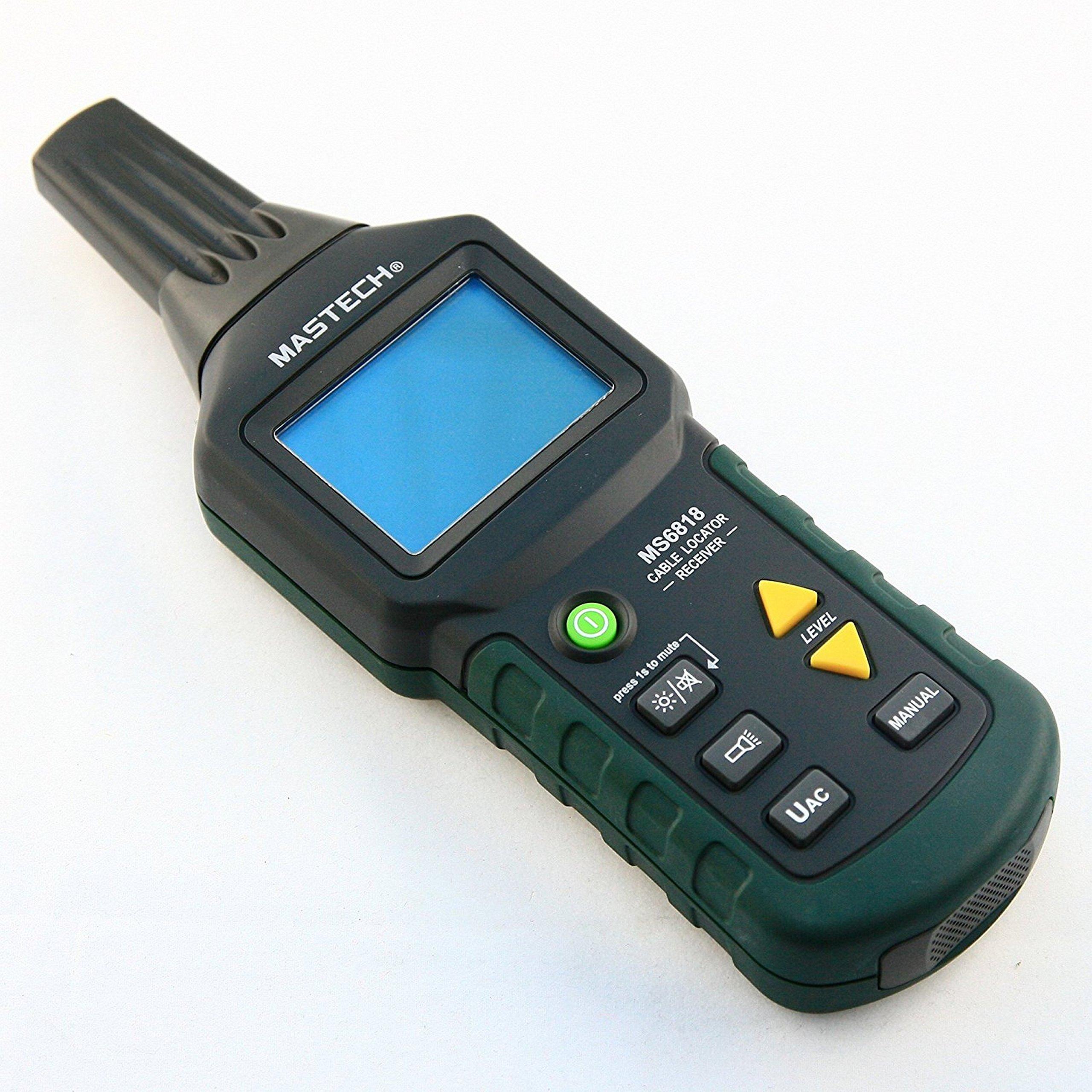 MASTECH MS6818 Advanced Wire Cable Tracker Pipe Locator ...