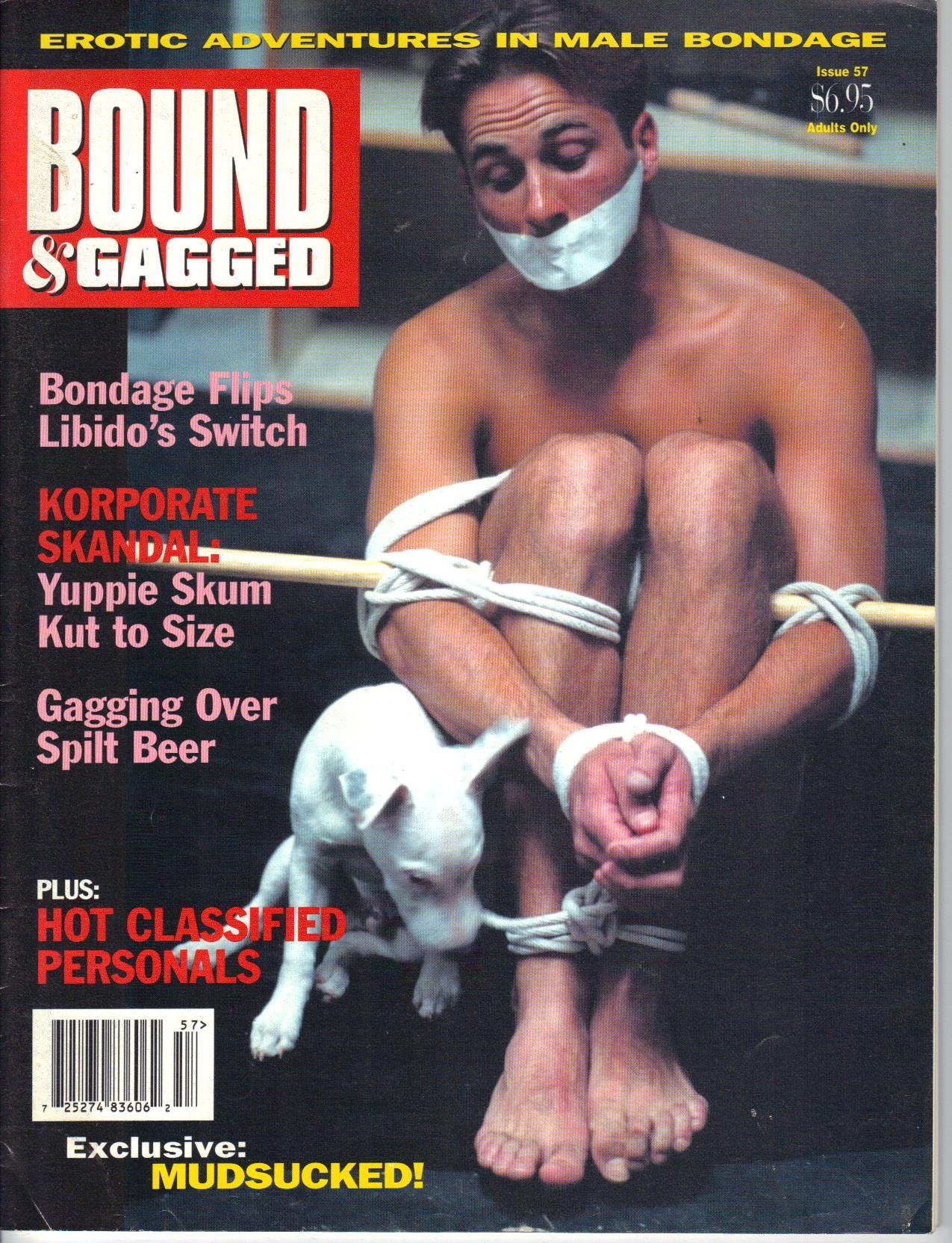 Bound and gagged magazine