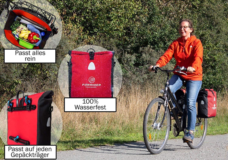 Forrider Fahrradtasche Wasserdicht fr Gepcktrger ...