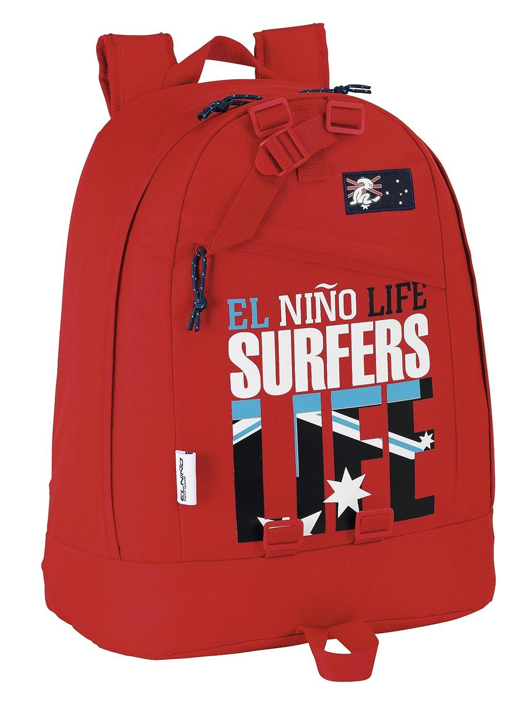 El Niño Surfers - Mochila de 45 cm (Safta 621406674): Amazon.es: Equipaje